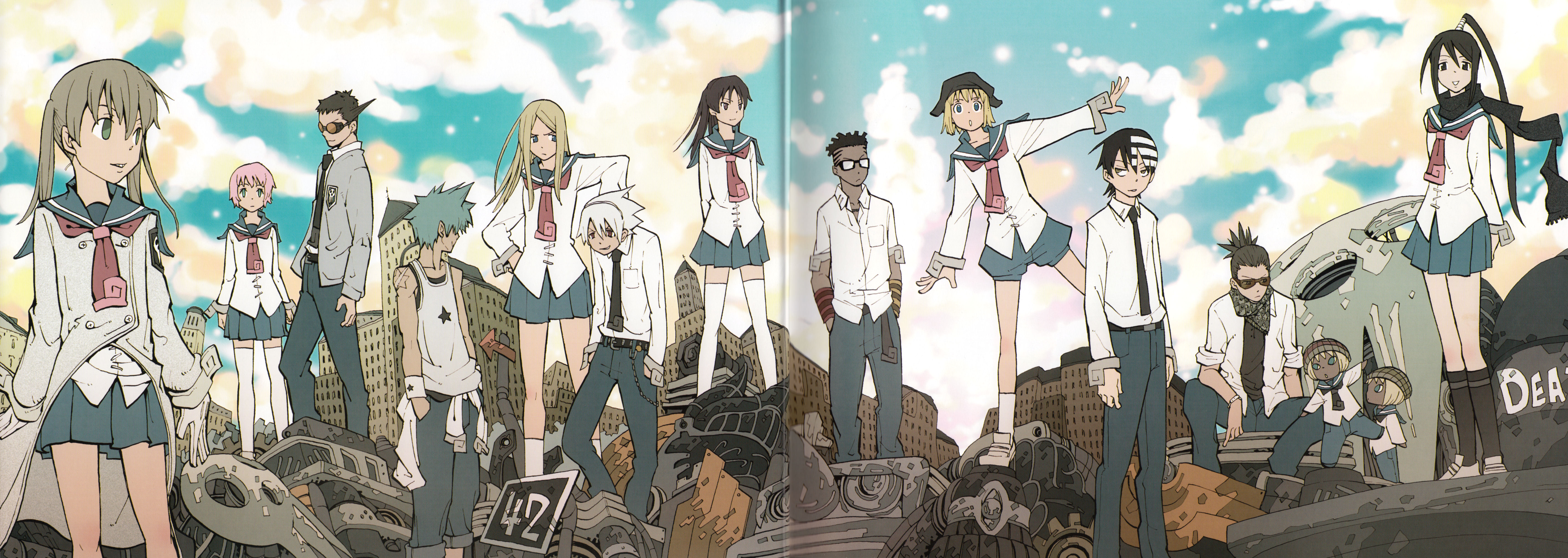 Spartoi soul eater wiki fandom powered by wikia clothing voltagebd Gallery
