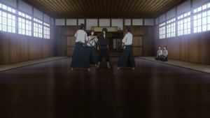 Episode 4 (NOT) - Akane durng training