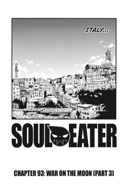 Soul Eater Chapter 93 - Cover