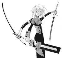Soul Eater Chapter 68 - Crona madness fusion with Black Clown