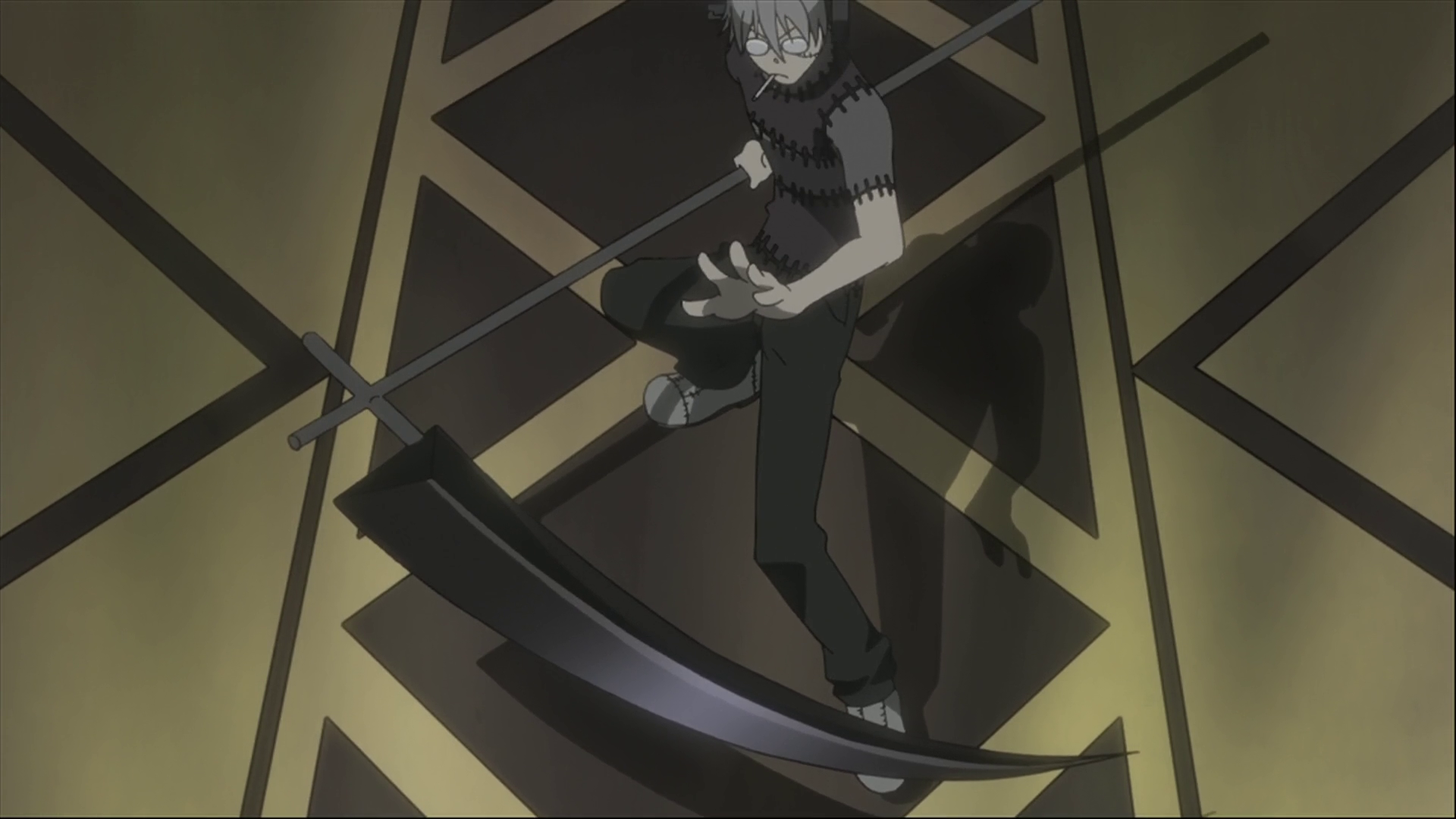 Stein S Fighting Style Soul Eater Wiki Fandom Powered By Wikia