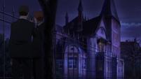 Soul Eater NOT Episode 10 - Shibusen agents around Meme's holding house