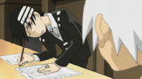 Soul Eater Episode 14 - Kid struggles with his test