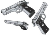 Twin Demon Pistols official art