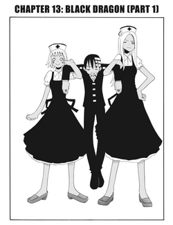 Soul Eater Chapter 13 - Cover