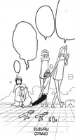 Soul Eater Chapter 98 - Liz drags Kid out of girls' shower