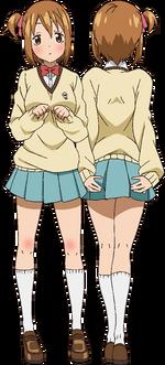 Meme Tatane official anime art