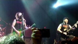 Soulfly - Karmageddon - Live @ The Gramercy Theatre , NYC 10 19 09