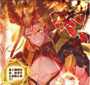 Golden Dragon King Human