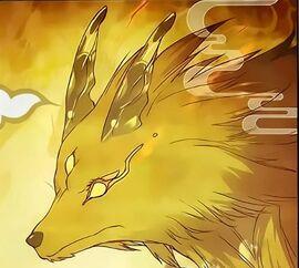 Three Eyed Golden Lion