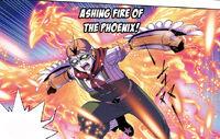 Bathing Fire Phoenix 2