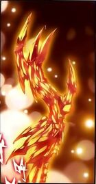 Gold Earth Dragon King Left Arm Bone