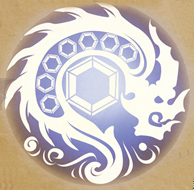 Blue Lightning Tyrant Dragon Clan Logo