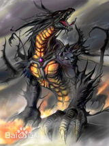 Golden Eyes Black Dragon King