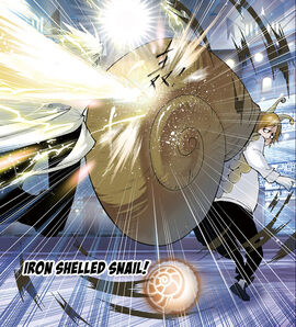 Iron Shelled Snail
