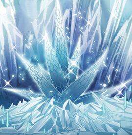 Octagonal Mysterious Ice Grass
