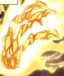 Golden dragon dreadclaw