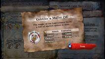 Cobblers Mallet M