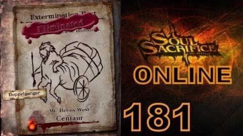 Let's Play Soul Sacrifice PS VITA - Part 181 - ONLINE - Hour Of Silver - Centaur
