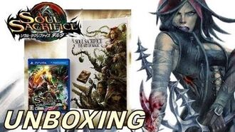 "Soul Sacrifice DELTA PS VITA - UNBOXING + ""Soul Sacrifice The Art Of Magic"" Art Book Flick Through!"