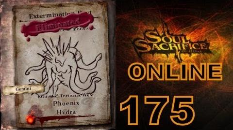 Let's Play Soul Sacrifice PS VITA - Part 175 - ONLINE - Hour Of Cypress - Phoenix Hydra