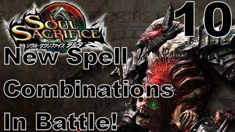 Soul Sacrifice DELTA DEMO Walkthrough - Part 10 - ONLINE - New Spell Combinations In Battle!