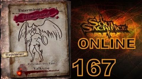 Let's Play Soul Sacrifice PS VITA - Part 167 - ONLINE - Hour Of Indigo - Valykrie