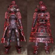 Red Female Warrior