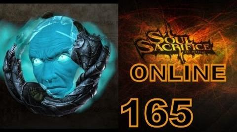Let's Play Soul Sacrifice PS VITA - Part 165 - ONLINE - Hour Of Indigo - Ouroboros