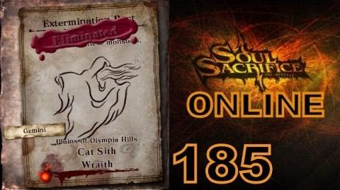 Let's Play Soul Sacrifice PS VITA - Part 185 - ONLINE - Hour Of Silver - Cat Sith Wraith