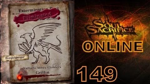 Let's Play Soul Sacrifice PS VITA - Part 149 - ONLINE - Hour Of Chartreuse - Griffin