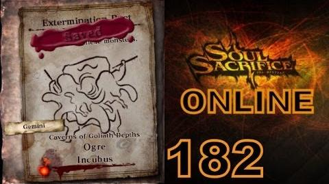Let's Play Soul Sacrifice PS VITA - Part 182 - ONLINE - Hour Of Silver - Ogre Incubus