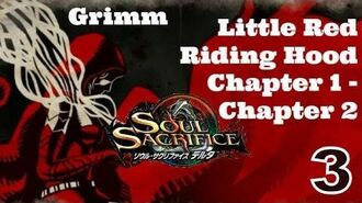 Soul Sacrifice DELTA PS VITA - 1080P Let's Play Walkthrough - 3 - Grimm Faction - Red Riding Hood