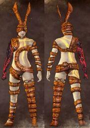 Orange Female Conjurer