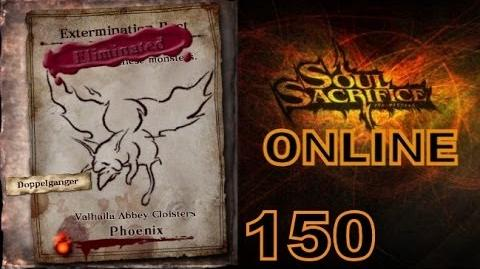 Let's Play Soul Sacrifice PS VITA - Part 150 - ONLINE - Hour Of Chartreuse - Phoenix