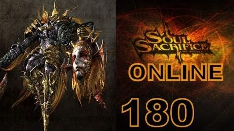 Let's Play Soul Sacrifice PS VITA - Part 180 - ONLINE - Hour Of Silver - Iron Maiden