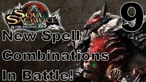 Soul Sacrifice DELTA DEMO Walkthrough - Part 9 - ONLINE - New Spell Combinations In Battle!