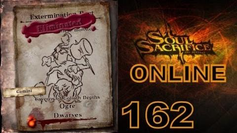 Let's Play Soul Sacrifice PS VITA - Part 162 - ONLINE - Hour Of Harlequin - Ogre Dwarves