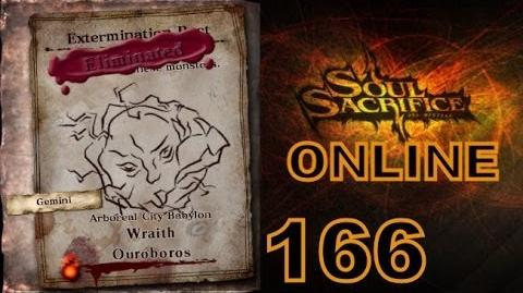 Let's Play Soul Sacrifice PS VITA - Part 166 - ONLINE - Hour Of Indigo - Wraith Ouroboros