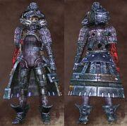 Blue Female Warrior