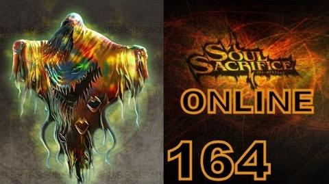 Let's Play Soul Sacrifice PS VITA - Part 164 - ONLINE - Hour Of Indigo - Wraith