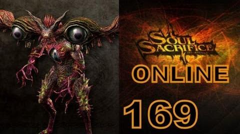 Let's Play Soul Sacrifice PS VITA - Part 169 - ONLINE - Hour Of Sappanwood - Basilisk
