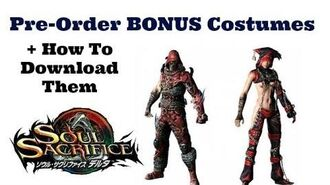 Soul Sacrifice DELTA PS VITA 1080P - Pre-order bonus costumes + How To Download Them!