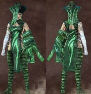 Female green stranger