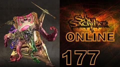 Let's Play Soul Sacrifice PS VITA - Part 177 - ONLINE - Hour Of Ash - Incubus