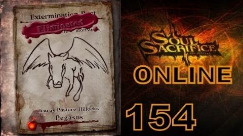 Let's Play Soul Sacrifice PS VITA - Part 154 - ONLINE - Hour Of Chartreuse - Pegasus
