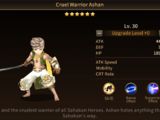 Cruel Warrior Ashan