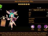 Hero Researcher Min