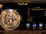 Sun Knight Warren