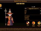 Dark Fire Remus